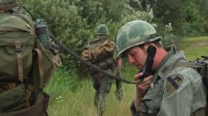 "Vietnam War reenactors on patrol, ""In Country"""