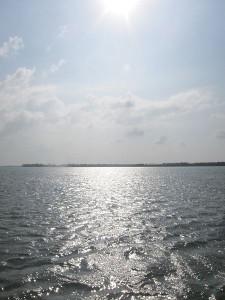 "Indi Samarajiva. ""Sun over Water."" 2010."