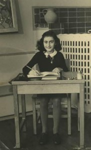 Anne Frank, school photo.