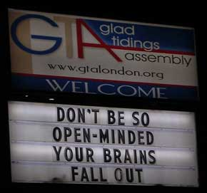 open minded brains fall out