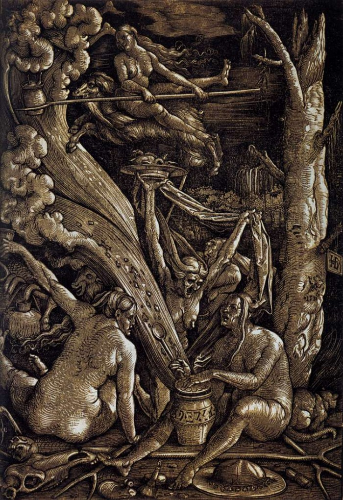 Witches' Sabbath by Hans Baldung