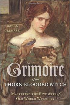 Cover art for Grimoire of the Thorn-Blooded Witch