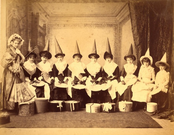 Nine Witches (source Haunting Visions Stock)