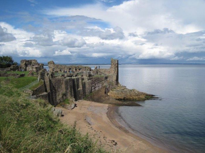 Ruins of St. Andrews Castle, St. Andrews, Scotland