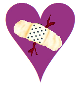 heart w bandaid