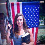 guns bible flag