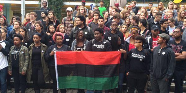 Tulane Black Student Union protest, my photo