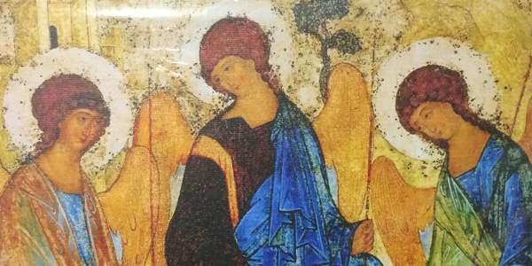My Rublev Trinity icon