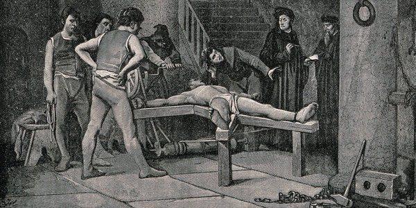 """""""La tortura de Cavalletto,"""" Wikimedia C.C."""