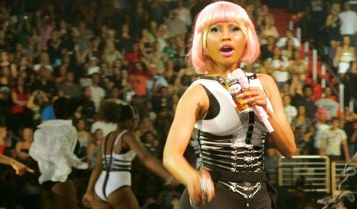 Nicki Minaj, Live Femme Fatale, by Dyllan, Wikimedia Commons C.C.