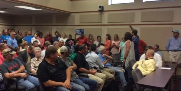Horry County School Board Meeting [Youtube screen capture]