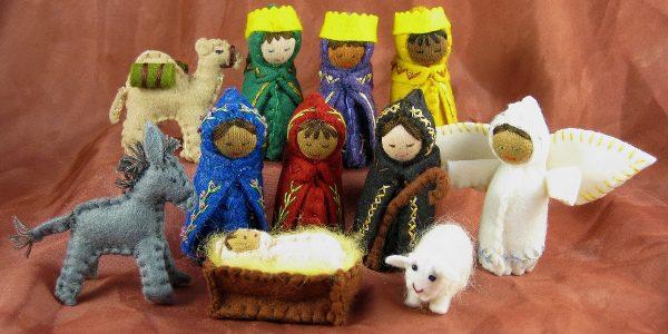 Alkelda, School Auction Nativity Set, Flickr C.C.