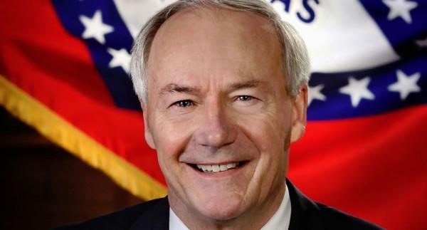 Official portrait of Arkansas governor Asa Hutchinson (arkansas.gov)