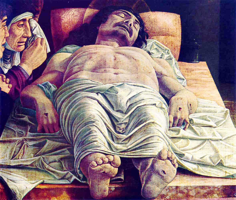 Mantegna, Lamentation of Christ, c. 1480.