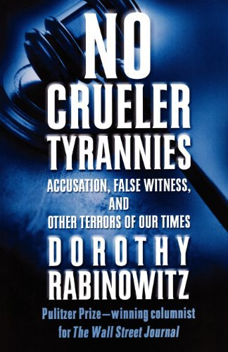 Rabinowitz's No Crueler Tyrannies also covers puts the child sex abuse cases in context.