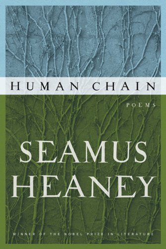 """As Cosmos returns and looks forward to future posts we first consider Heaney who was already touchingly talking about himself in the past tense in his last collection of poems, Human Chain: """"I had my existence. I was there. / Me in place and the place in me."""""""