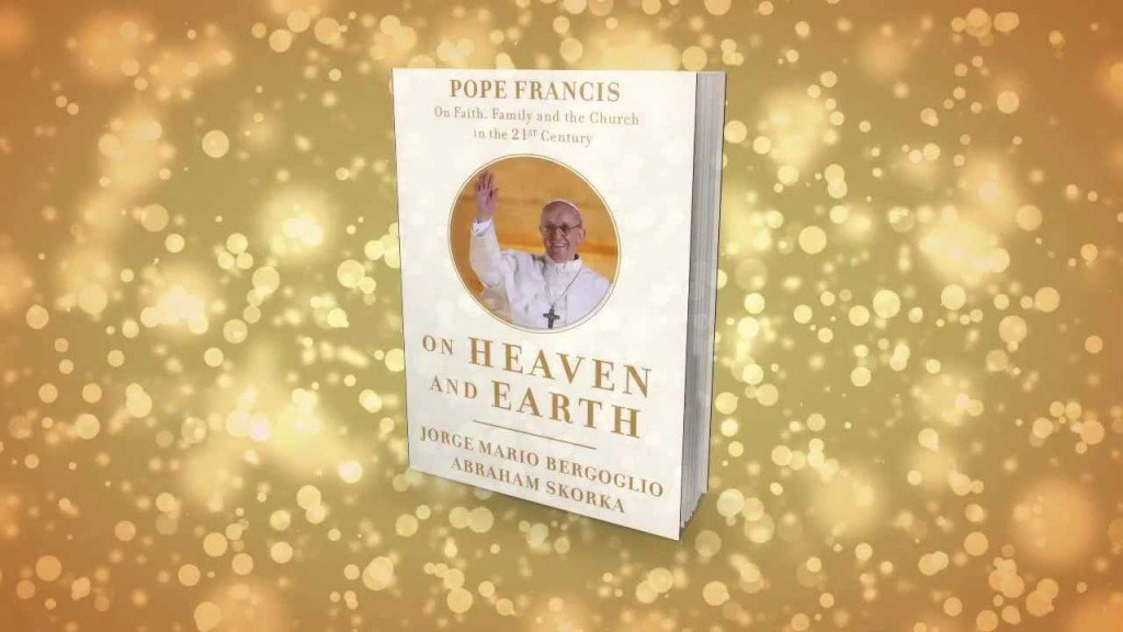 A lot of the pope's sparkling personal commitment to encounter comes through in his only book in English. The dialogue with Rabbi Skorka On Heaven and Earth.