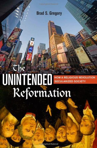 The Unintended Reformation: the Reformation failed, because it ended up in schism, instead of reforming from within as it aimed to do.