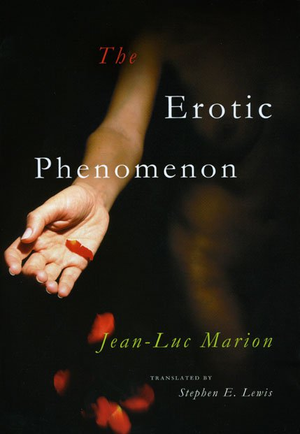 The Erotic Phenomenon has one of the most alluring covers of any philosophy book.