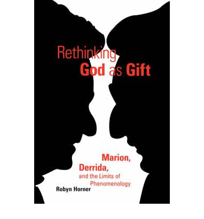 Derrida (L) and Marion (R) face off on the cover of Rethinking God as Gift