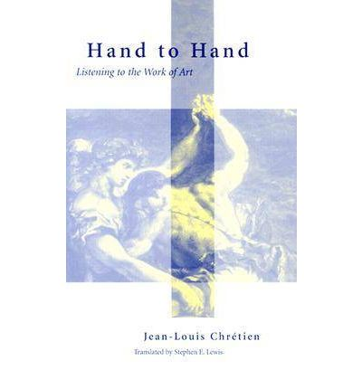 The Ark of Speech is only available in hardback without artwork, so I thought I'd introduce you to the artwork on the cover of  Chretien's masterpiece on art, Hand to Hand (a Delacroix fresco).