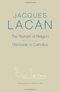 Perhaps the craziest thing Lacan ever wrote during a long and crazy writing career?