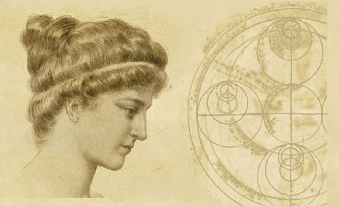 The sixty year old Hypatia definitely did not look like this. If you google her name you'll find ever racier pictures.