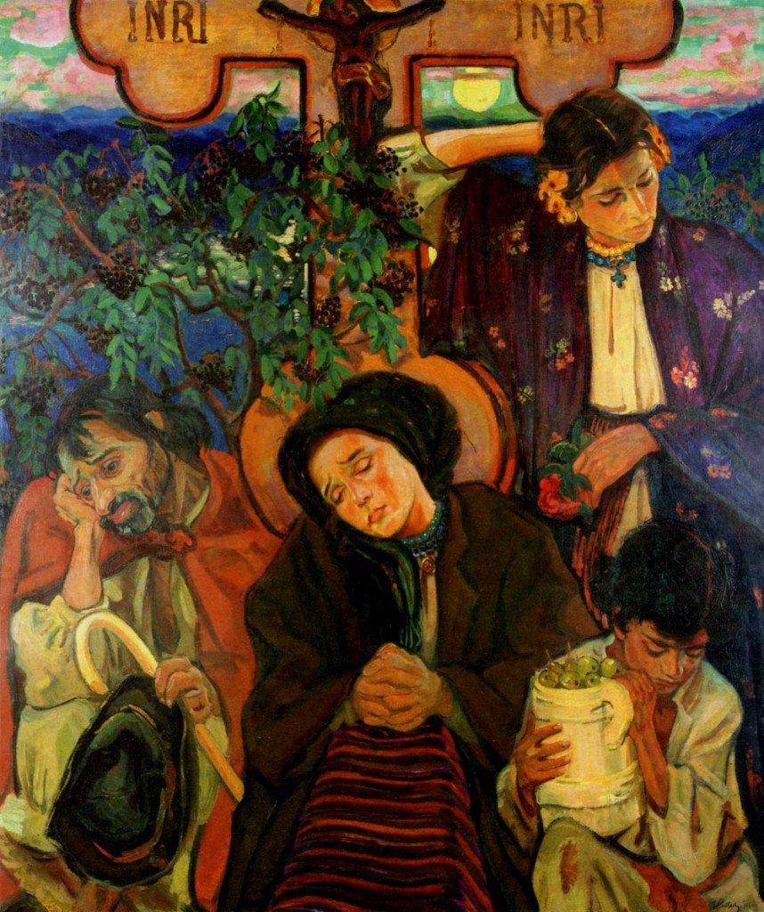 """Fryderyk Pautsch, """"Under the Cross,"""" 1911."""