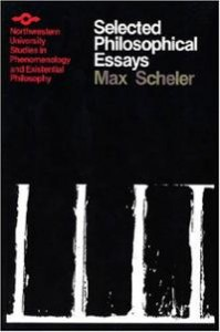 The cover design decisions on this Northwestern series devoted to phenomenology are as confusing and questionable as some of the decisions Max Scheler made in his life.