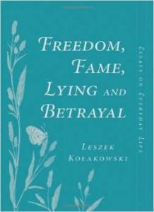 Kolakowski's meditations on sundry subjects are not as breezy as the cover.
