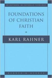 rahner foundations