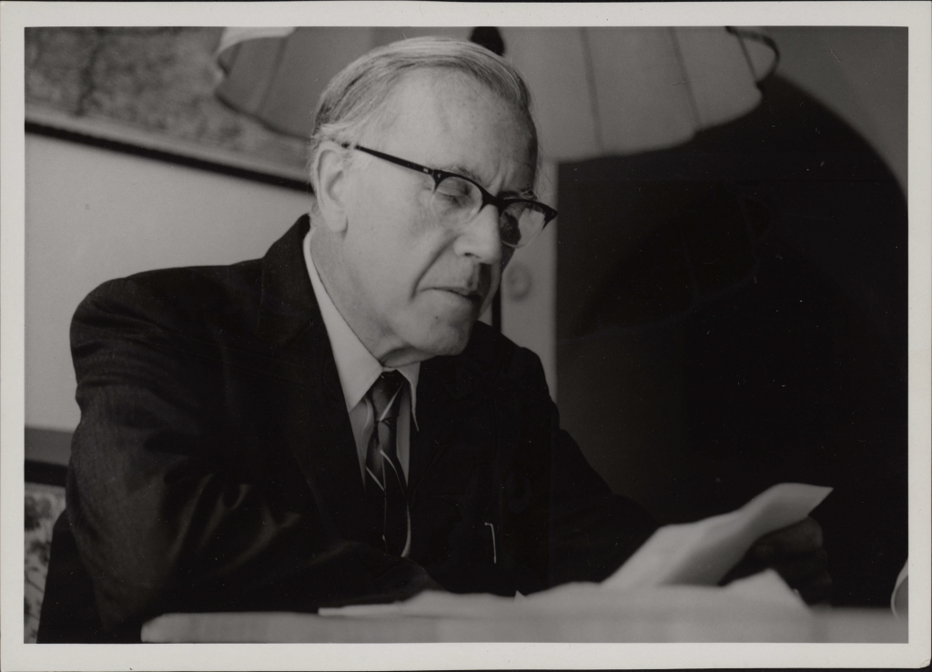Photo courtesy of The Hildebrand project, which recently published My Struggle Against Hitler and is also offering a fellowship to work on von Hildebrand's papers.