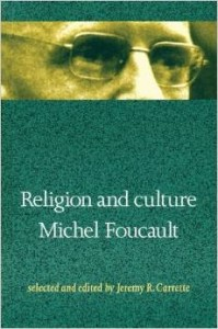 A generous and fascinating collection of Foucault's texts on religion.