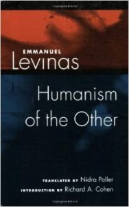 Hadjadj credits the Jewish phenomenologist Levinas with turning his attention to the importance of the Other in philosophy and theology.