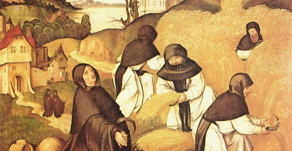 When you're busy in the fields of the LORD you sanely don't obsess about all the other things you could be doing (Jörg Breu the Elder, Scene from the Life of St. Bernard, 1500; Source: Wikimedia Commons, PD-Old-100).