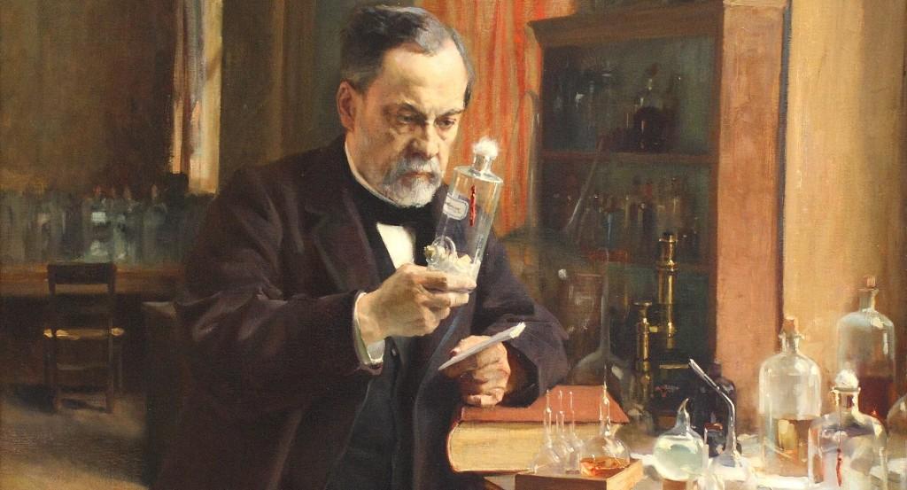 """I can't believe Santorum said that to the pope!"" (Albert Edelfelt, Louis Pasteur, 1885)."