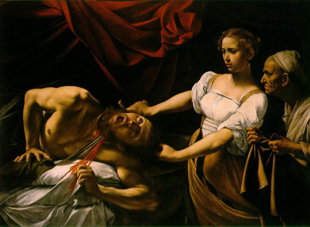 Don't lose your head, but cutting off body parts is the next trend in life-choices (Caravaggio, Judith Beheading Holofernes, 1599; Source: Wikimedia Commons, PD-Old-100).
