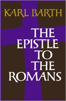 The front cover of Barth's Epistle to the Romans is fine if not breathtaking. It's the back cover that matters.