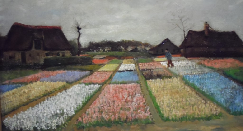 Your moment of Zen (Van Gogh, Bulb Fields, 1883; Photo by Artur Rosman at Seattle Art Museum, all rights reserved).