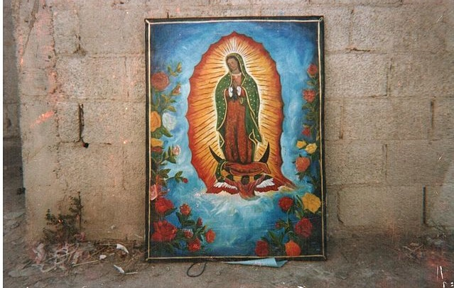 (Oil Painting on canvas, of Virgin de Guadalupe, own work by uploader,by Garrison Ricketson: Source: Wiki Commons, PD)