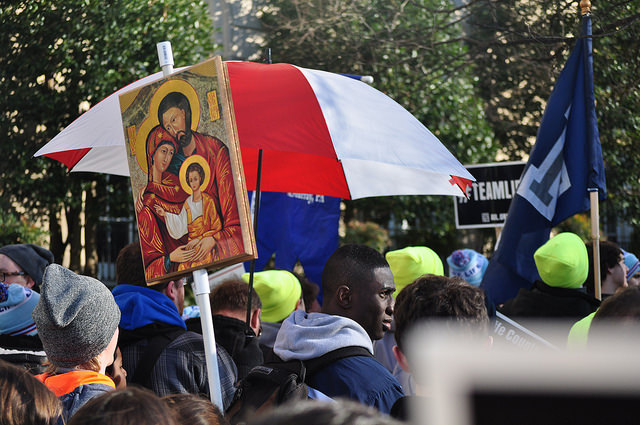 (Source: Flickr; Author: Franciscans of the Immaculate; Title: 2015 March for Life in Washington D.C.)