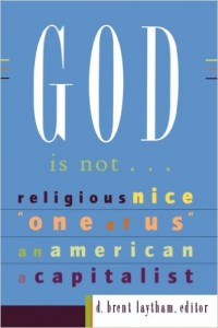 Is Scalia talking about the Christian God?