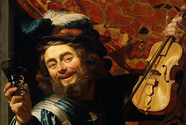 (Gerrit_van_Honthorst, The Merry Fiddler, 1623; Source: Wikimedia, PD-Old-100).