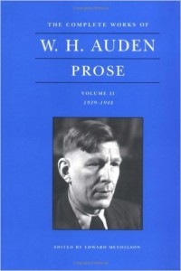 A passage from Auden's prose has a plausible explanation for why we need Divine Mercy.