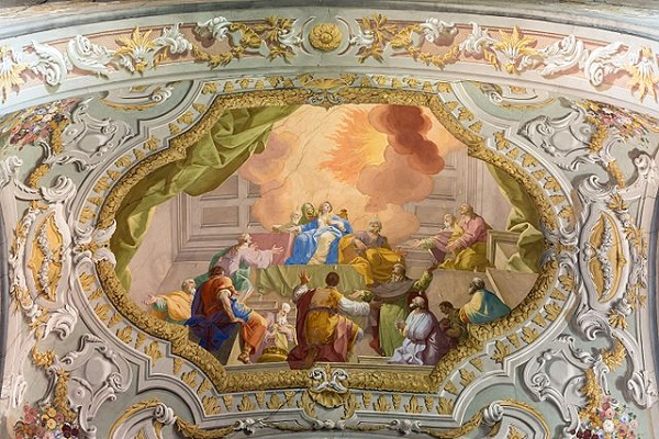 (Daniel Gran: The Miracle of Pentecost, c. 18th c.; Source: Wikimedia, CC BY-SA 3.0 AT)