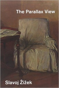 Parallax view: when a different view offers a different interpretation of reality. What if I told you the cover image here is a painting of Lenin in his study (as can be seen on the back cover).