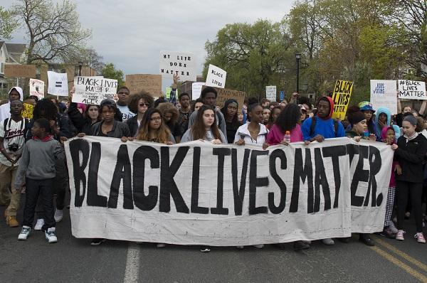 (Fibonacci Blue, Students march because Black Lives Matter, Minneapolis, Minnesota, CC by 2.0)