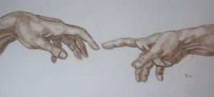 CreationofAdam-Hands