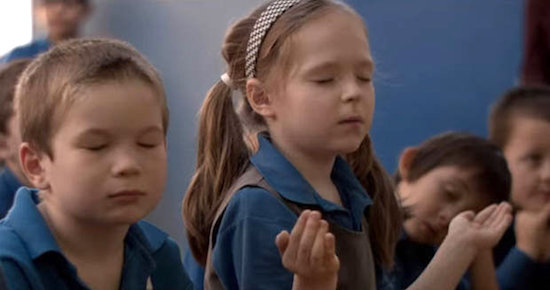Schoolchildren-are-seen-praying-in-the-video-339797