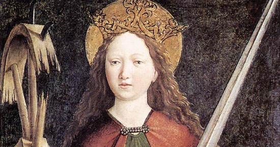 """""""St. Catherine of Alexandria"""""""